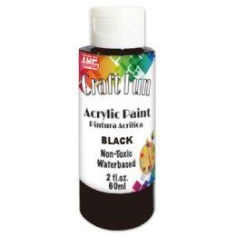 144 Bulk Acrylic Paint Black