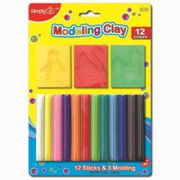 96 Bulk Twelve Color Modeling Clay
