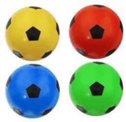 48 Bulk 12 Inch Assorted Color Soccer Ball