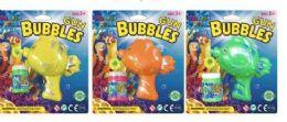 48 Bulk Fish Bubble Gun With Refill