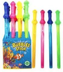 48 Bulk 24 Inch Colorful Bubbles Sticks