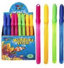 48 Bulk 13.5 Inch Colorful Bubbles Sticks