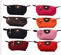 72 Bulk Small Assorted Color Cosmetic Bag