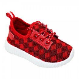 9 Bulk Kids Diamond Knit Jogger In Red