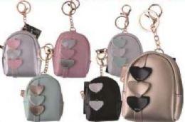 24 Bulk 3 Hearts Coin Bag