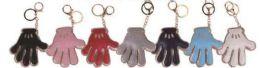 48 Bulk Gold Trim Hand Key Chain