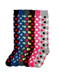 120 Bulk Mamia Women's Knee High Socks