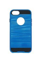12 Bulk For Iph 7/8 Metallic Case Blue