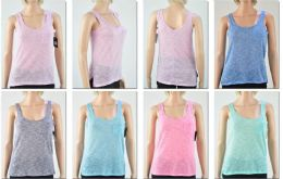 72 Bulk Women's Assorted Color Tank Tops