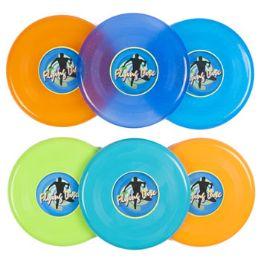 72 Bulk Assorted Colors Flying Disc