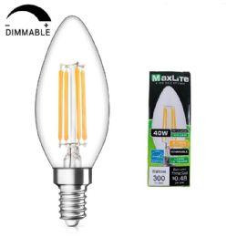 60 Bulk Maxlite One Pack Led Chandelier Bulb 4 Watt