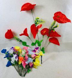 36 Bulk 8 Head Flowers