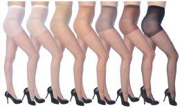 72 Bulk Ultra Sheer Pantyhose In White