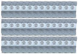 36 Bulk Yacht & Smith Kids Gray Solid Tube Socks Size 4-6