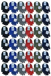 96 Bulk Yacht & Smith Wholesale Kids Beanie And Glove Sets (beanie Glove Set, 96)