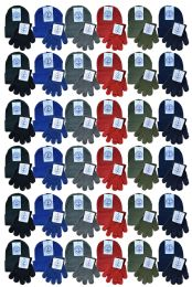 144 Bulk Yacht & Smith Wholesale Kids Beanie And Glove Sets (beanie Glove Set, 144)