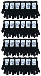 24 Bulk Yacht & Smith Unisex Black Magic Gloves