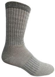 60 Bulk Yacht & Smith Mens Terry Lined Merino Wool Thermal Boot Socks