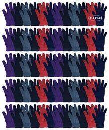 240 Bulk Yacht & Smith Women's Warm And Stretchy Winter Magic Gloves