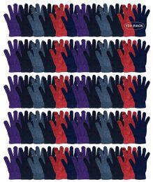 120 Bulk Yacht & Smith Women's Warm And Stretchy Winter Magic Gloves