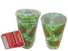 48 Bulk 4pc Printed Tumbler Cups