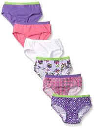 144 Bulk Fruit Of The Loom Toddler Girls Panty Brief Size -2t/3t