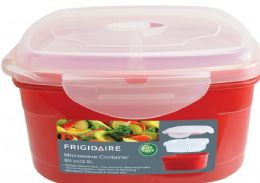 6 Bulk Microwave Container With Steamer Insert