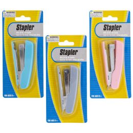 48 Bulk 3.5in Stapler W/50 No.10 Staples