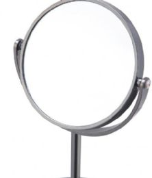 6 Bulk Vanity Mirror Black Onyx Finish