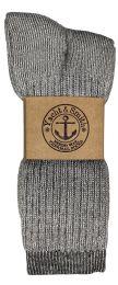 36 Bulk Yacht & Smith Mens Terry Lined Merino Wool Thermal Boot Socks