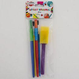 72 Bulk 5pc Artist Paint Brushes
