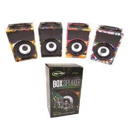 24 Bulk High Power Box Speaker 300 Mah