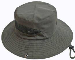 24 Bulk Adult Vented Sun Hat - Assorted Colors