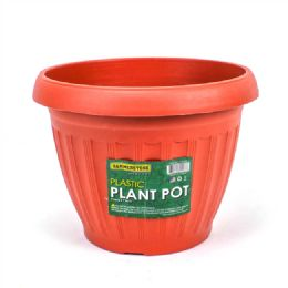 48 Bulk 1 Piece Plastic Plant Pot