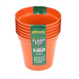 72 Bulk 4 Inches Plastic Plant Pot 6 Pieces