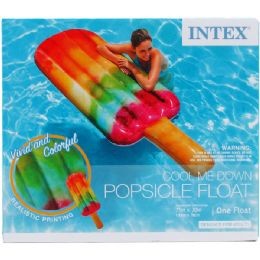 6 Bulk Popsicle Float In Color Box, Dsgn For Adults