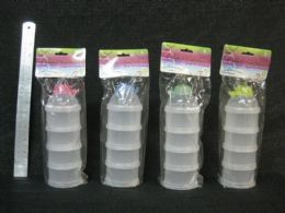48 Bulk 4 Section Baby Snack Carrier