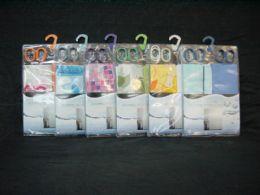24 Bulk 2 Piece Plastic Shower Curtain With Hooks