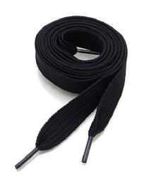 72 Bulk 45 Inch Black Sneakers And Casual Shoes Shoe Lace