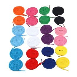 72 Bulk 54 Inch Assorted Colors Sneakers And Casual Shoes Shoe Lace