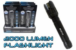 6 Bulk 2000 Lumen Tactical Flashlight