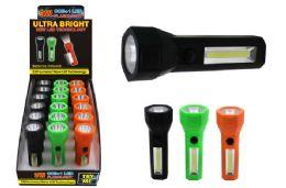 18 Bulk Cob Led 1 Led Flashlight Ultra Bright