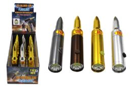 18 Bulk Cob Led 50 Cal Bullet Flashlight