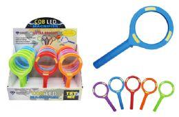 15 Bulk Cob Led Colorful Magnifying Glass