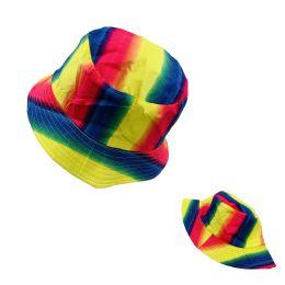24 Bulk Bucket Hat [rainbow]
