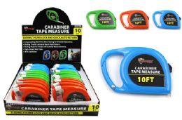 24 Bulk Carabiner Tape Measure