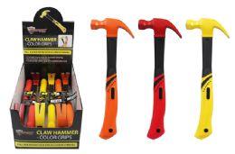 6 Bulk Colorful Claw Hammer