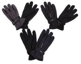 60 Bulk Men's Ski Gloves With Velcro Straps