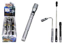 18 Bulk Mini Extendable Magnetic Led Flashlight
