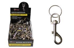 48 Bulk Snap Hook Keychain